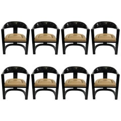 "Karl Springer ""Onassis"" Dining Chairs"