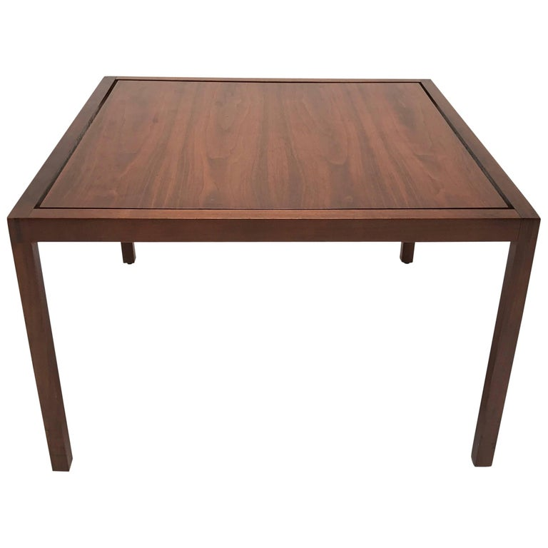 Lewis Butler for Knoll Walnut Side or Cocktail Table