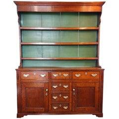 Georgian Oak North Country Dresser