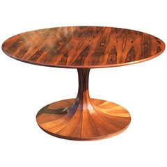 Rosewood  'Clessidra' Table by Luigi Massoni
