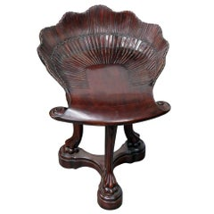 """Venetian Style """"Grotto"""" Chair"""