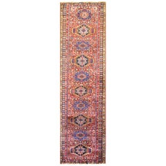 Antique Persian Heriz/Karaja Runner