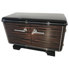 Macassar Art Deco Design Commode