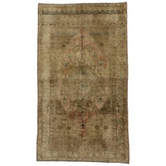 Vintage Turkish Oushak Rug in a Traditional Style