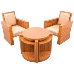 Art Deco Living Room Suite