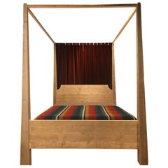 Contemporary Four-Poster bed