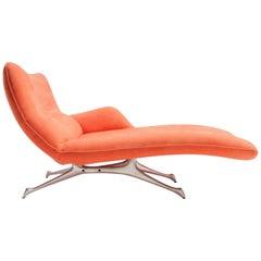 Vladimir Kagan Chaise Lounge for the Kagan New York Collection