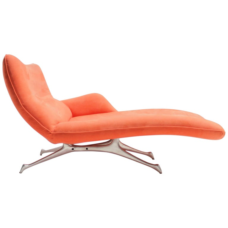 Vladimir Kagan Chaise Lounge For The New York Collection Sale At 1stdibs