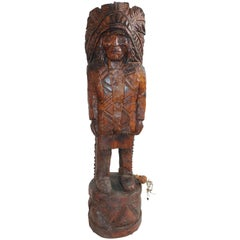 Cigar Store Indian / Counter Top