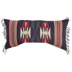 Mexican Indian Serape Bolster Pillow
