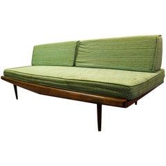 Mid-Century Modern Green Adrian Pearsall Sofa #992
