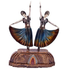Authentic Art Deco Sculpture by Demetre Chiparus