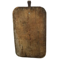 Early 20th Century European Cutting or Bread Board from France