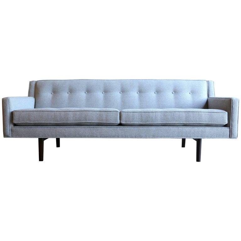 Bracket Back Sofa by Edward Wormley for Dunbar