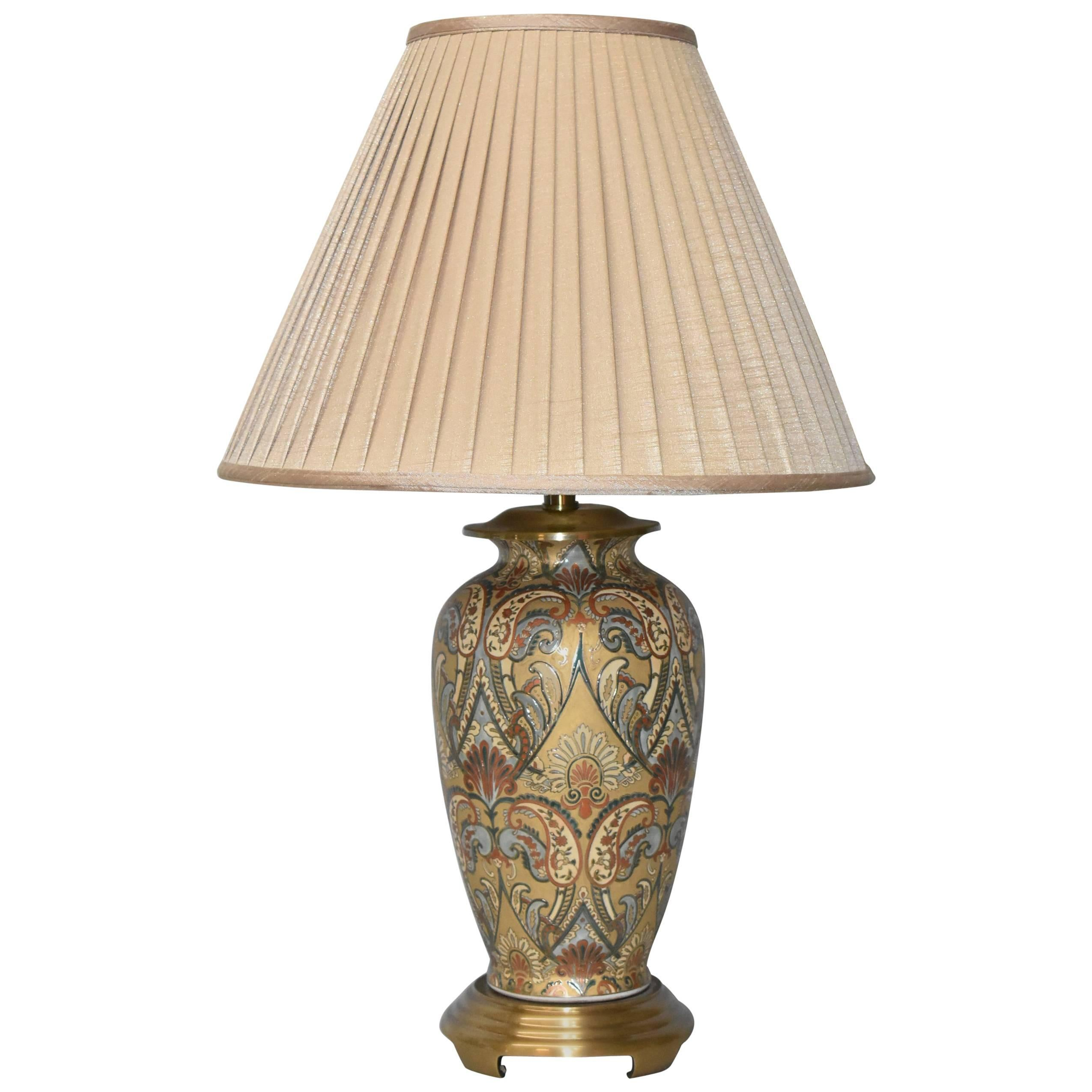 Asian Style Ginger Jar Table Lamp By Frederick Cooper For Sale