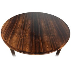 Rosewood Flip Flap Dining Table by Dyrlund