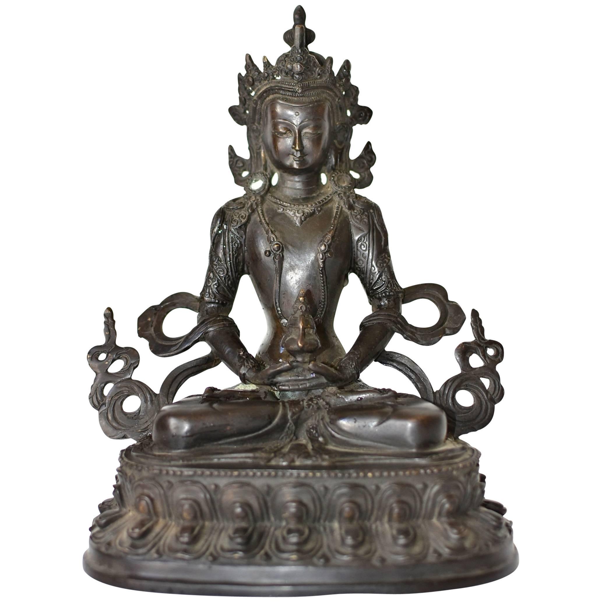 Bronze Tibetan Amitayus