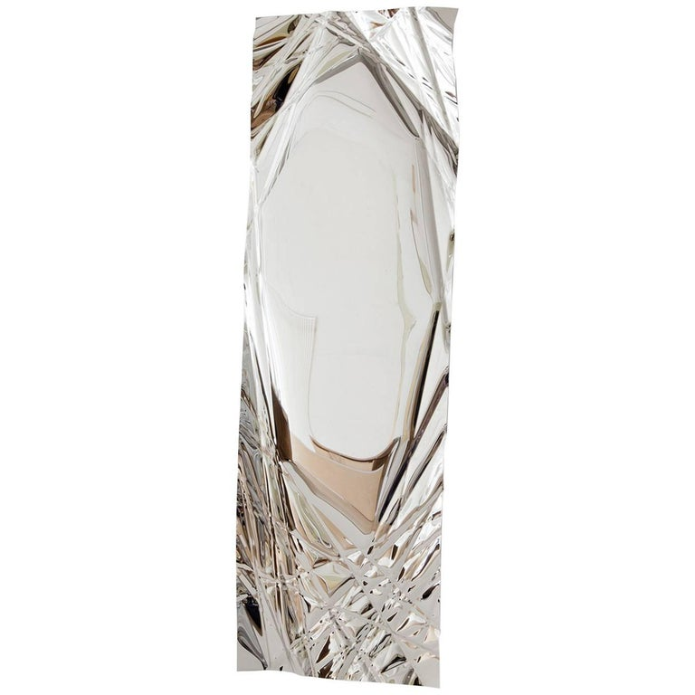 Christopher Prinz Wrinkled Mirror For Sale