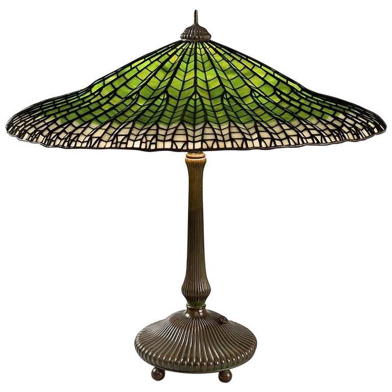 """Tiffany Studios """"Mandarin"""" Table Lamp"""