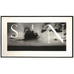 Signed Ed Ruscha, SIN without Litograph, Limited Edition A/P 10 of 12