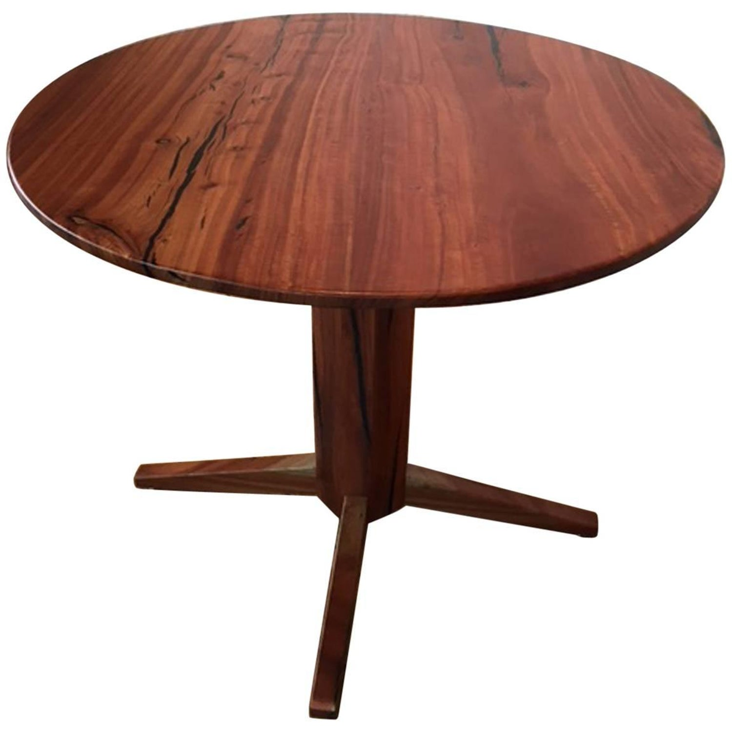 Eucalyptus wood center table for sale at 1stdibs