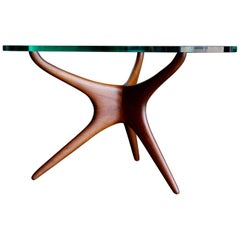 Tri-Symmetric Occasional Table by Vladimir Kagan