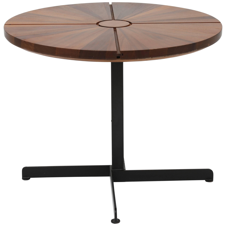 "Charlotte Perriand, ""Soleil"" adjustable table, c. 1970"