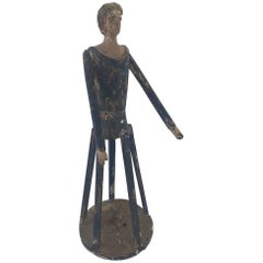 Primitive Woman Cage Doll, 19th Century