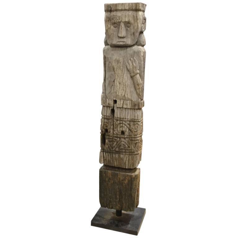 Andrianna Shamaris Hand-Carved Iron Wood Statue