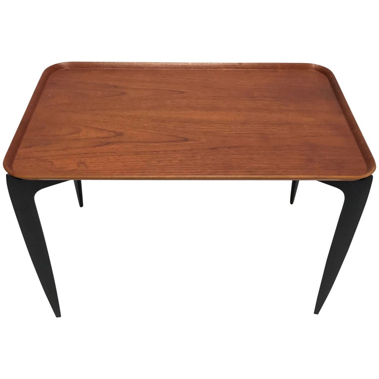Willumsen & Engholm for Fritz Hansen Rectangular Tray Table