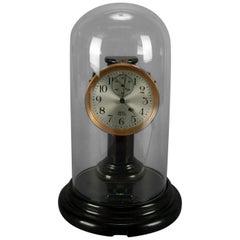 Bakelite Battery Operated Impulse Dome Clock by Poole Ithaca, NY, 20th Century