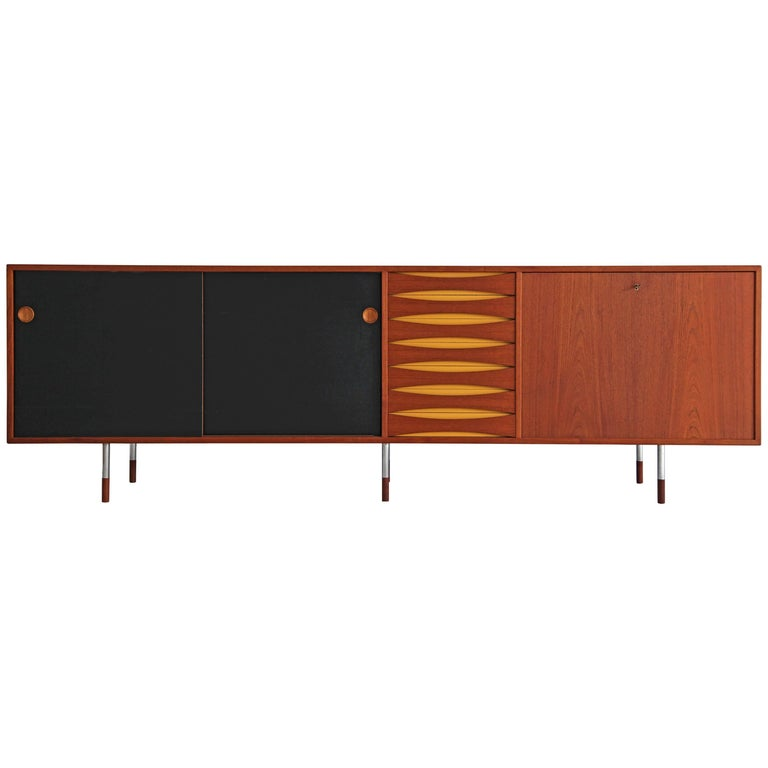 Teak Sideboard 29A by Arne Vodder for Sibast, 1960s