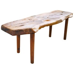 Midcentury Tree Trunk Table