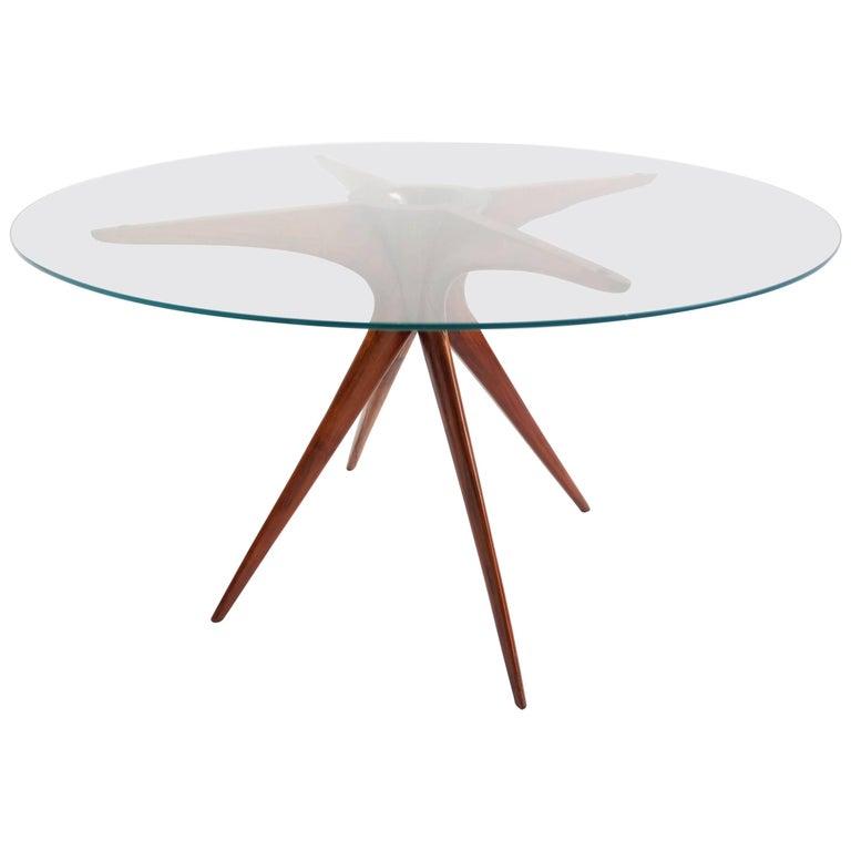 Elegant Carlo de Carli Style Coffee Table
