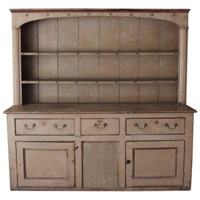 18th Century Painted Georgian Dresser