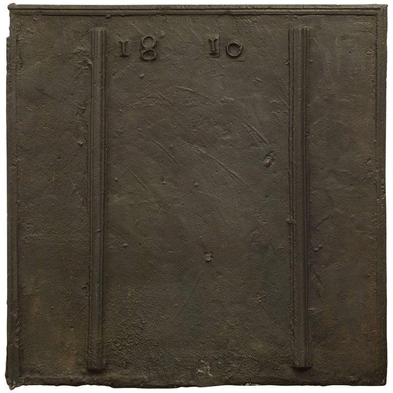 Fireback Dated 1810, Very Appealing