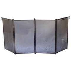 19th Century French Fireplace Screen or Fire Screen