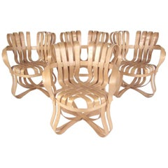 "Frank Gehry ""Cross Check"" Chairs for Knoll"