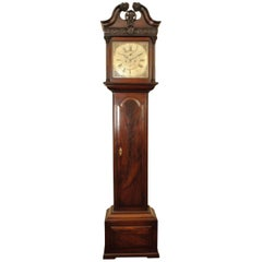 Fine 18th Century Irish Mahogany Long Case Clock