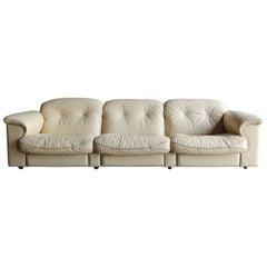 """De Sede """"DS-101"""" Leather Sofa"""