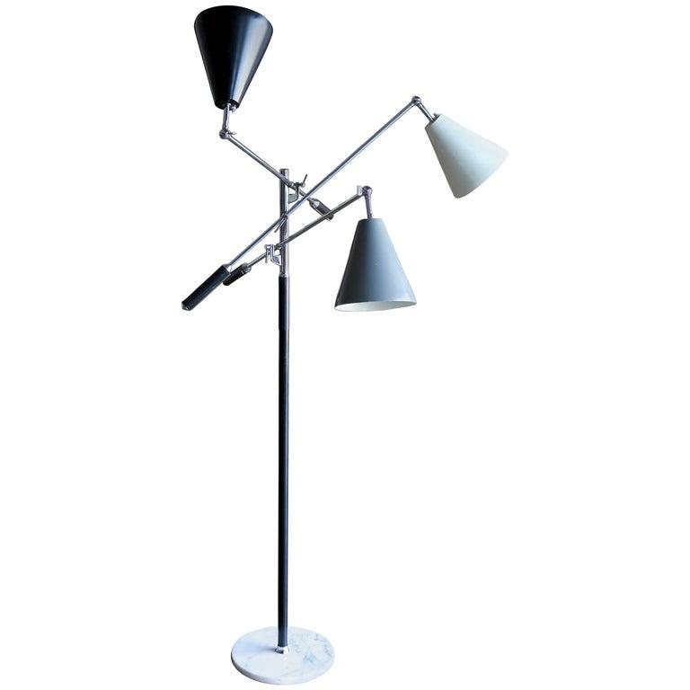 Italian Triennale Floor Lamp For Sale