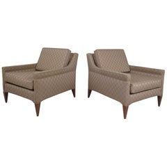 Mid-Century Dunbar Lounge Chairs