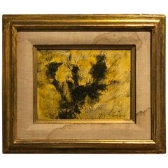 Original Abstract Oil on Canvas by California Artist Pascal Cucaro