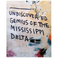 Basquiat Sotheby's Genius of the Missippi Delta Catalog