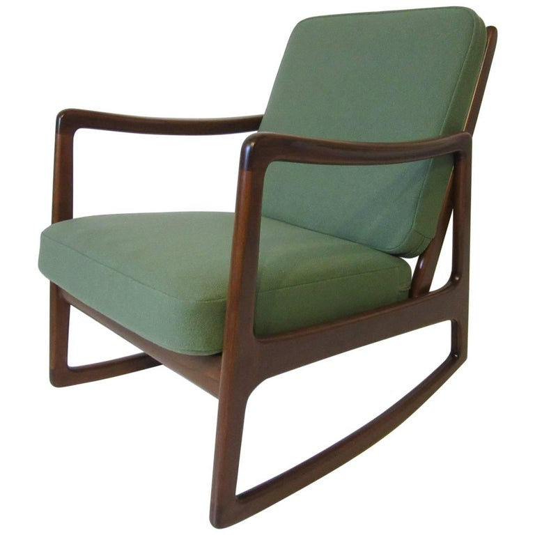 Danish Rocking Chair by France & Daverkosen