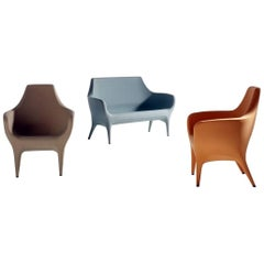 BD Barcelona Showtime Outdoor Seating in Orange, Sand, Blue-Grey or White