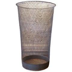 Industrial Tapered Fine Weave Metal Mesh Basket