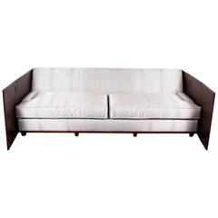 Holly Hunt Design Faux Shark Skin Upholstered Sofa