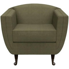 Upholstered Carlo Lounge Chair from William Collins Collection