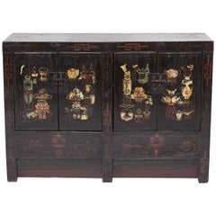 Mid-19th Century Chinese Garden of Cultivation Coffer